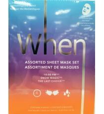 When bio-cellulose Sheet Face Mask, 8 masks