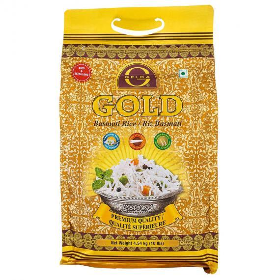 Gelda Gold Basmati Rice 4.54 kg