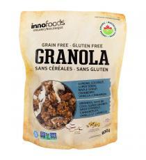 Innofoods Biologique GRANOLA sans cereales sans gluten, 600 g