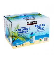 Kirkland Signature Coconut Water Organic 12 x 330 ml