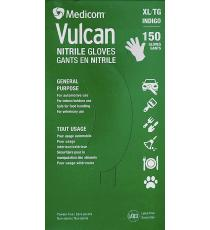 Medicom Vulcan Nitrile Gloves, XLarge, Pack of 150