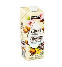Kirkland Signature Organic Almond Beverage, Vanilla, 6 × 946 mL