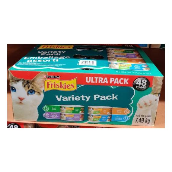 Friskies Assortment , US Product 48 x 156 g