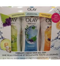 OLAY Fresh Outlast Body Wash - 3 x 700 ml