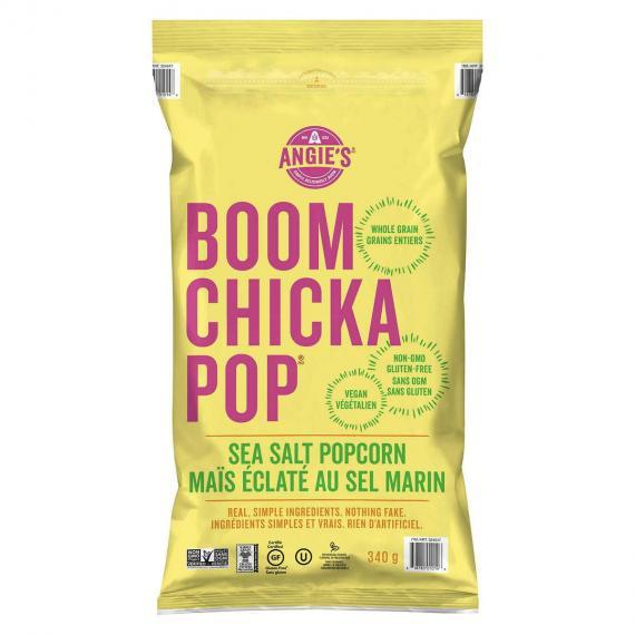 Angie's Boom Chicka Pop Sea Salt Popcorn, 340 g
