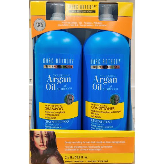 Marc Anthony True Professional Shampoo and Conditioner 2 × 1 L
