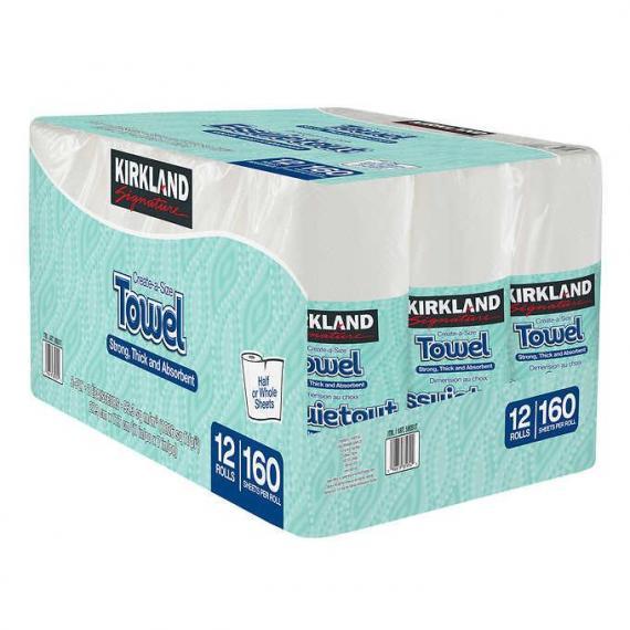 Kirkland Signature Premium Big Roll Towel 12 x 160 sheets