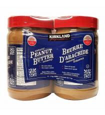Kirkland Signature de Beurre d'Arachide 2 x 1 kg