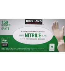 Kirkland Signature Nitrile Medical Examination Gloves Medium M, 150