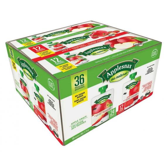 Applesnax Assorted Apple Snack Pack 36 × 90 g