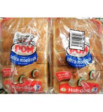 Pom Hot Dog Bread, 2*12
