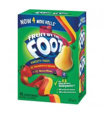 Fruit By The Foot - Rubans de bonbon, pqt de 44