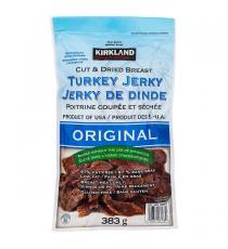 Kirkland Signature - Jerky de dinde à saveur originale, 383 g