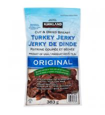 Kirkland Signature Original Turkey Jerky, 383 g