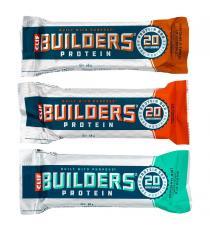 Clif Bar Builders - Barres protéinées 18 × 68 g