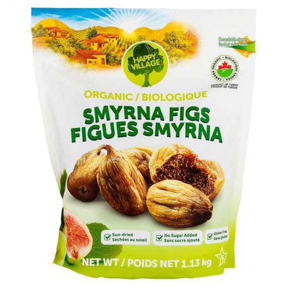 Happy Village Organic Smyrna Figs 1.13 kg