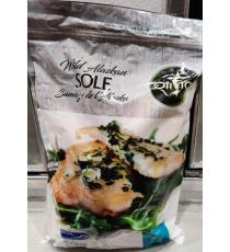 Olivia Sole Fillets Wild Alaskan, 1.13 kg