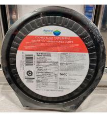 DIAMOND HARVEST Cooked Black Tiger Shrimp Tray + Sauce 26/30, 539 g