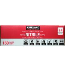Kirkland Signature Nitrile Medical Examination Gloves Small S/P, 150