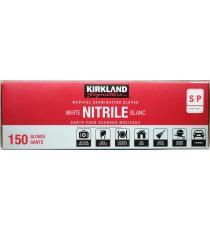 Kirkland Signature Nitrile Medical Examination Gloves Small S/P, 150