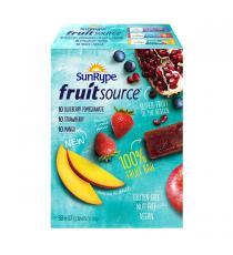 SunRype - Barre aux fruits 30 × 37 g