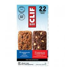 Clif Bar - Barres protéinées à saveurs variées, 22 × 68 g