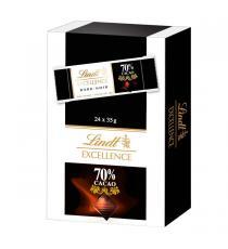 Lindt Excellence de Chocolat 70%, 24 x 35 g