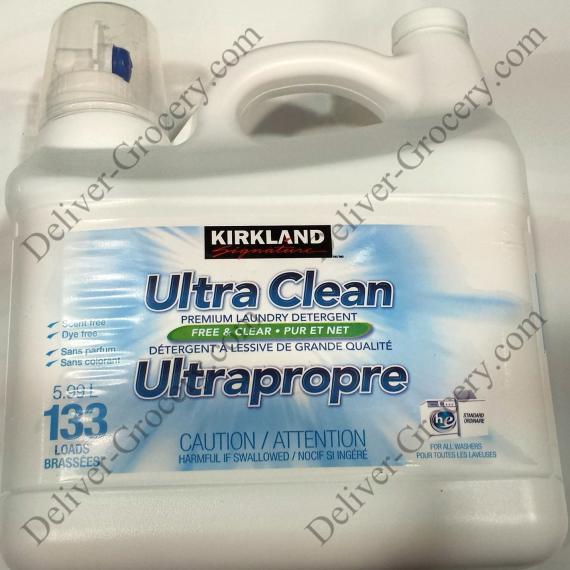 Kirklnad Ultra Clean Premium Laundry Detergent, 5.99 L