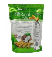 Tropical Fields Crispy Coconut Rolls, 265 g