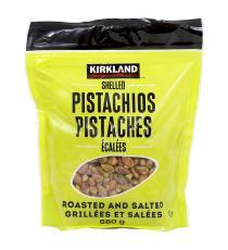 Kirkland Signature Pistaches Écalées, Salées et rôties 680 g