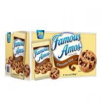 Famous Amos - Biscuits aux pépites de chocolat 30 × 56 g