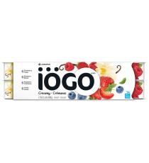 IOGO Yogurt Vanilla Raspberry Strawberry Blueberry Creamy 1.5%, 24 x 100 g