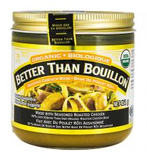 Better Than Bouillon - Pot de base de poulet rôti biologique de 454 g