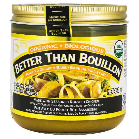 Better Than Bouillon Organic Roasted Chicken Base, 454 g