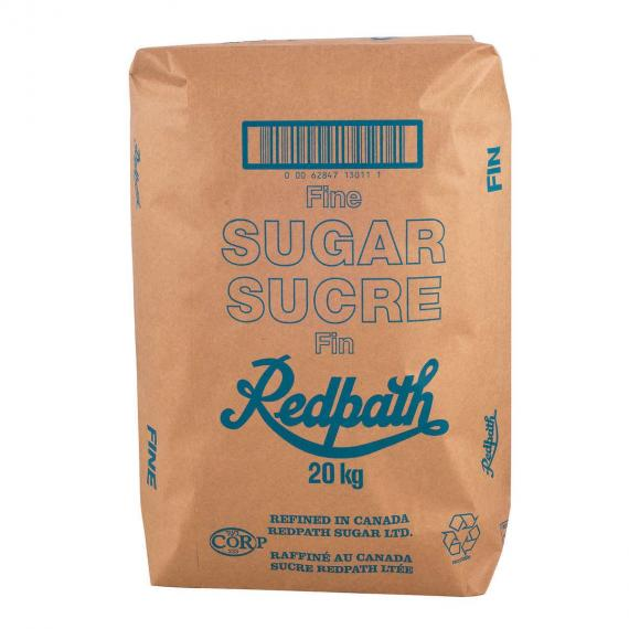 Redpath Granulated White Sugar, 20 kg