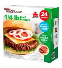 Cardinal Roadhouse Frozen Beef Burgers 24 x 113 g