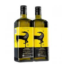 Terra Delyssa Extra Virgin Organic Olive Oil, 2 x 1 L
