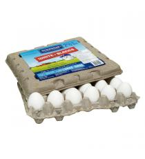BURNBRAE Fermes - Blanc Gros Œufs, Boite de 30 unités