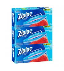 Ziploc 3 x 50 Large Freezer Bags