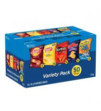 Frito Lay Chips Variety Pack 50 × 28 g