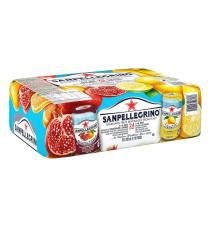 San Pellegrino Sparkling Fruit Beverages, 24 x 330 ml