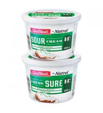 NATREL Sealtest - Crème sure 14 % - 2 × 500 ml