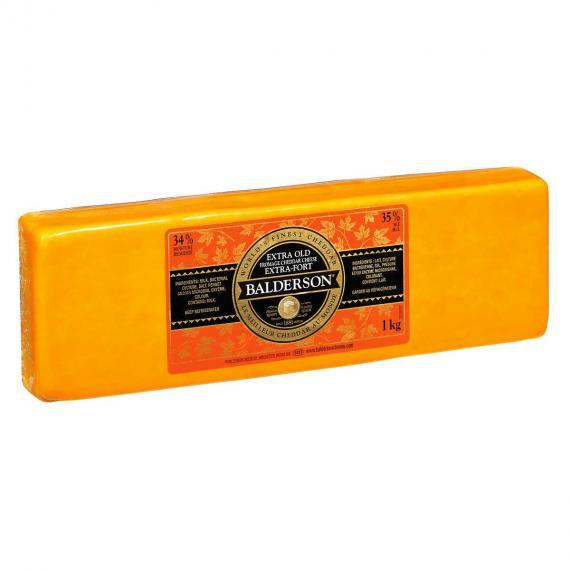 Balderson, Extra Fromage Cheddar fort, râpé 1 kg