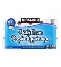 Kirkland Signature Bath Tissue, toilet paper 30 rolls
