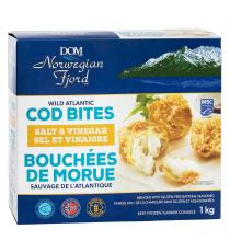 DOM Norwegian Fjord Wild Atlantic Cod Bites, 1 kg