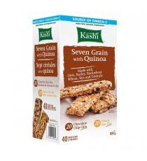 Kashi Sept Céréales avec du Quinoa 40 x 20 g, 800 g