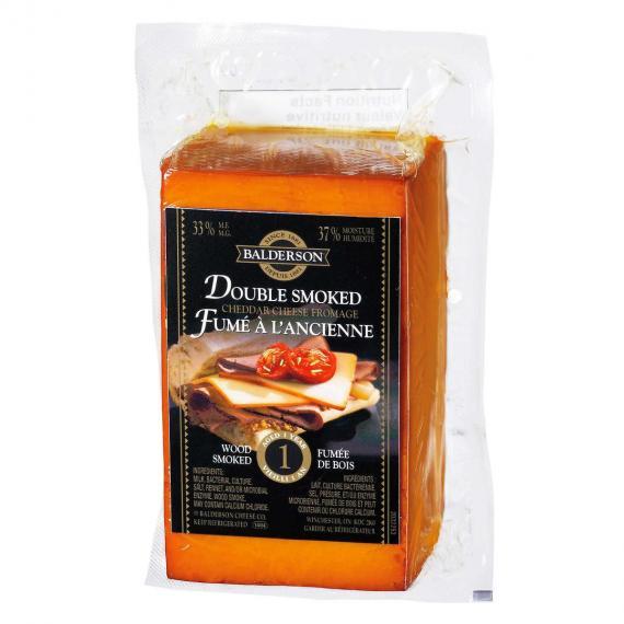 Balderson, Double Fumé 500 g de Fromage Cheddar