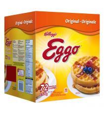 Kelloggs Eggo Waffles, 2.52 kg