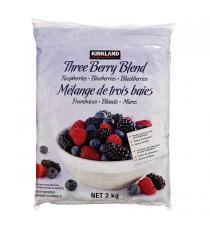 Kirkland Signature 3 Berry Blend, 2 kg
