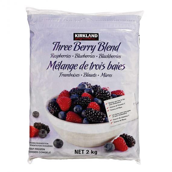 Kirkland Signature 3 Berry Mélange, 2 kg